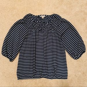 Navy and Stripes
